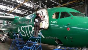 Професионално почистване на … самолет