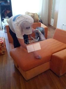 Пране на мека мебел тип лежанка и още за почистване на домове